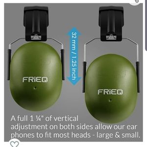 🆕️ FrieQ Noise Cancelling Shooting Ear Cover